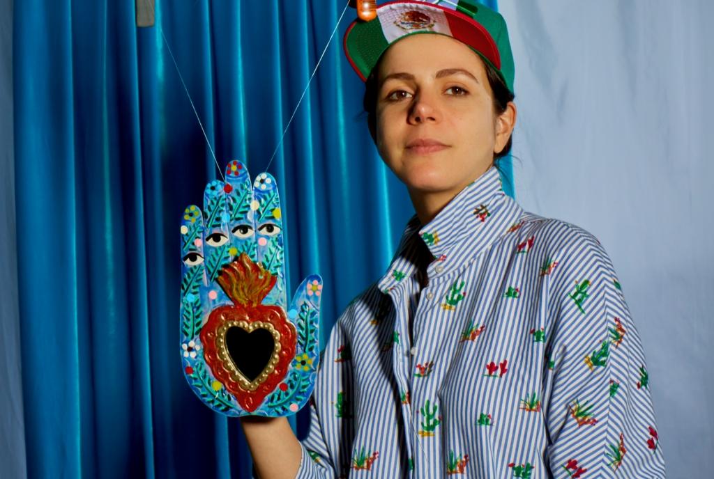 Loteria Dama Mexican Game Artist Andrea Cueva