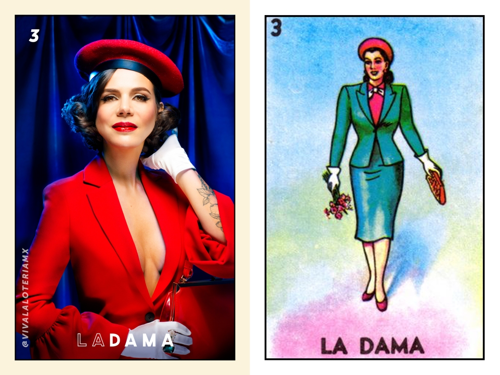 Loteria Dama Mexican Game