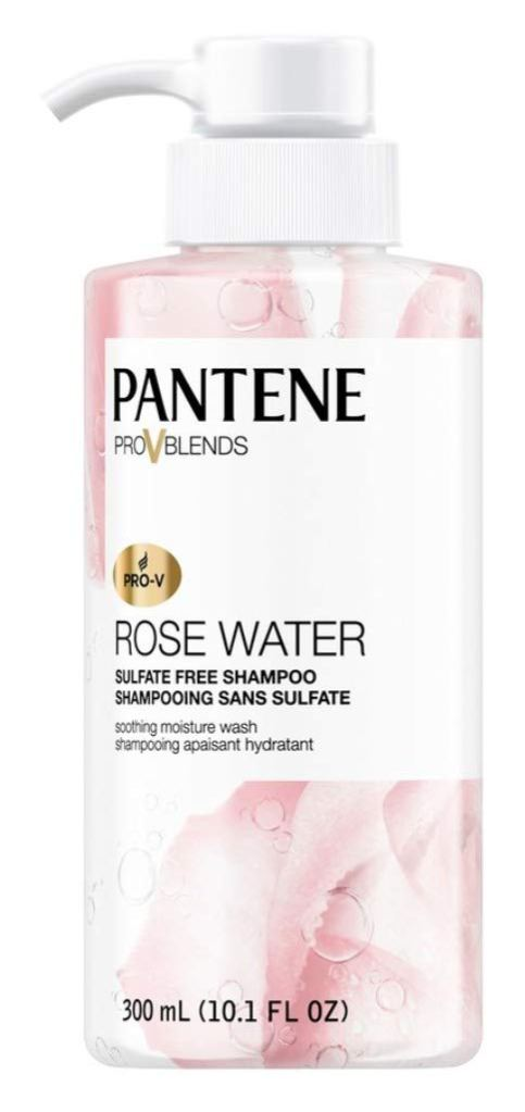 Rose-Infused Beauty Products Pantene Rose Water Shampoo