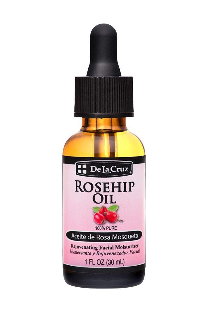 Rose-Infused Beauty Products De La Cruz Rosehip Oil