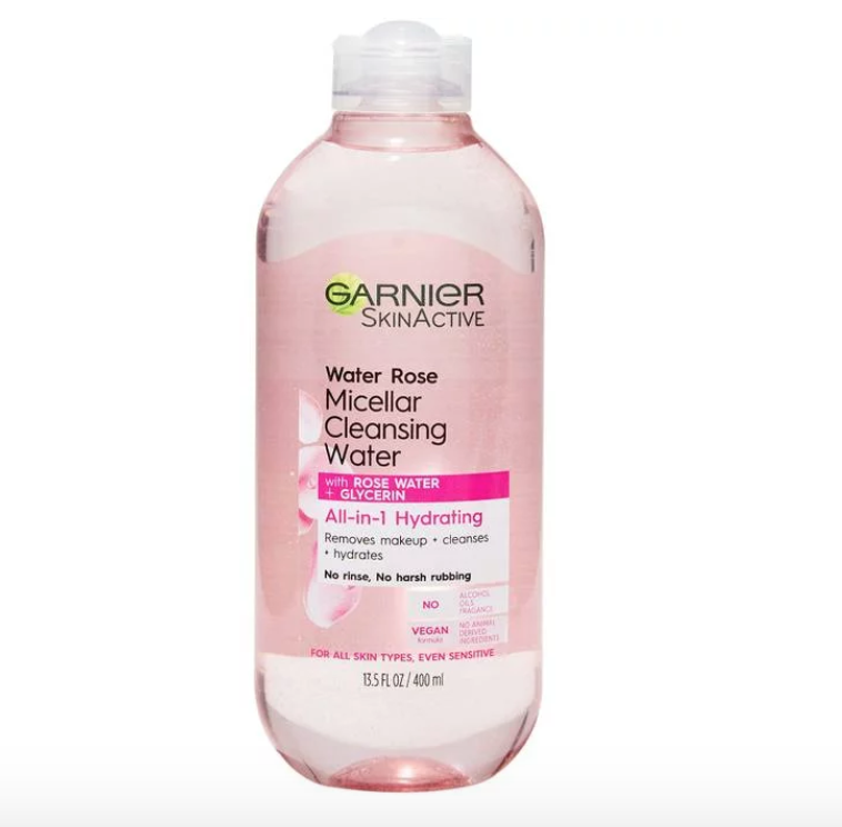 Rose-Infused Beauty Products Garnier Micellar Cleansing Water
